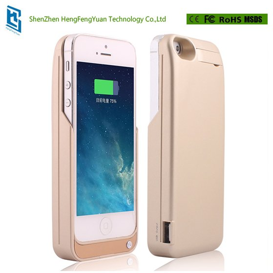 Case Cover Power Bank 4200mAh For iPhone 5 5s SE Rechargeable External Charger Pack Backup Battery Phone Cases Powerbank