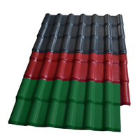 Synthetic resin roofing tile/ASA spanish roof tile/ASA pvc plastic roofing sheet