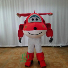 HI CE adult mascot outfits airplane mascot costume