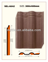 Clay Roofing Tiles for Building Decoration (NO.4042)