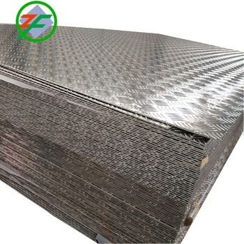 Good Price Aluminum Checker Sheet for Bus Five Bar/Ribs Aluminum Tread Plate