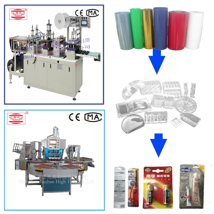 blister packing machine with model