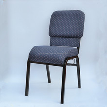 stackable cheap used interlocking church chair wholesale in Nigeria YC-G180