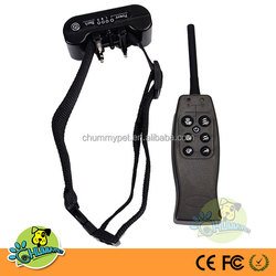E-917 Remote Control 1 Dog and NO BARK Dual Function Collar, dog training collar