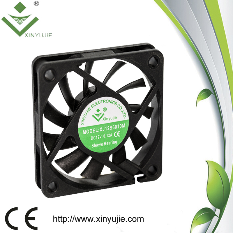 Sleeve Bearing Computer Case Fan Air Blow Cooling PC Fan with Connecter