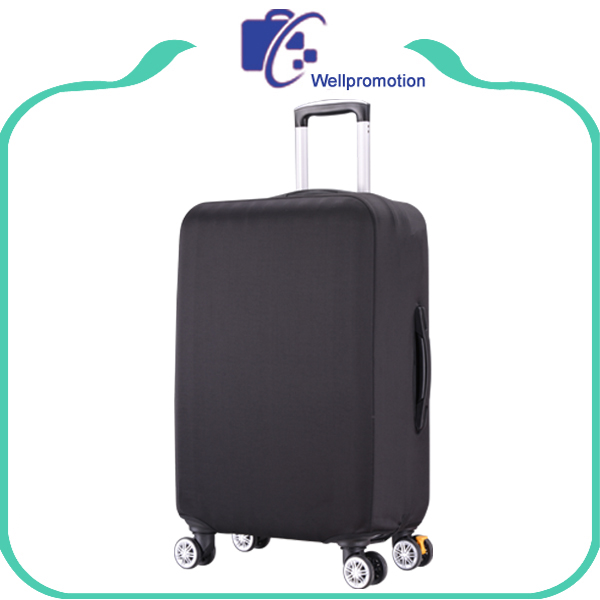 Strech spandex travel luggage cover/ custom suitcase cover protector