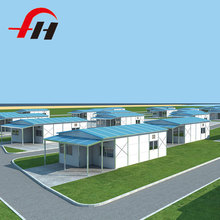 Chinese Supplier New Technology Cement Modular prefabricated container house price