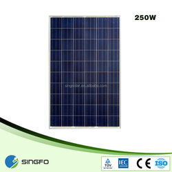 30v 250W grade A solar Panel Price for mideast market low price