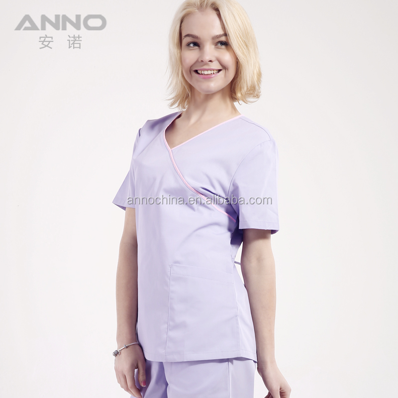 Design nurse scrubs wholesale medical uniforms for hospital staff