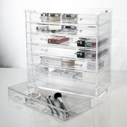 high quality 6 drawer acrylic makeup organzier