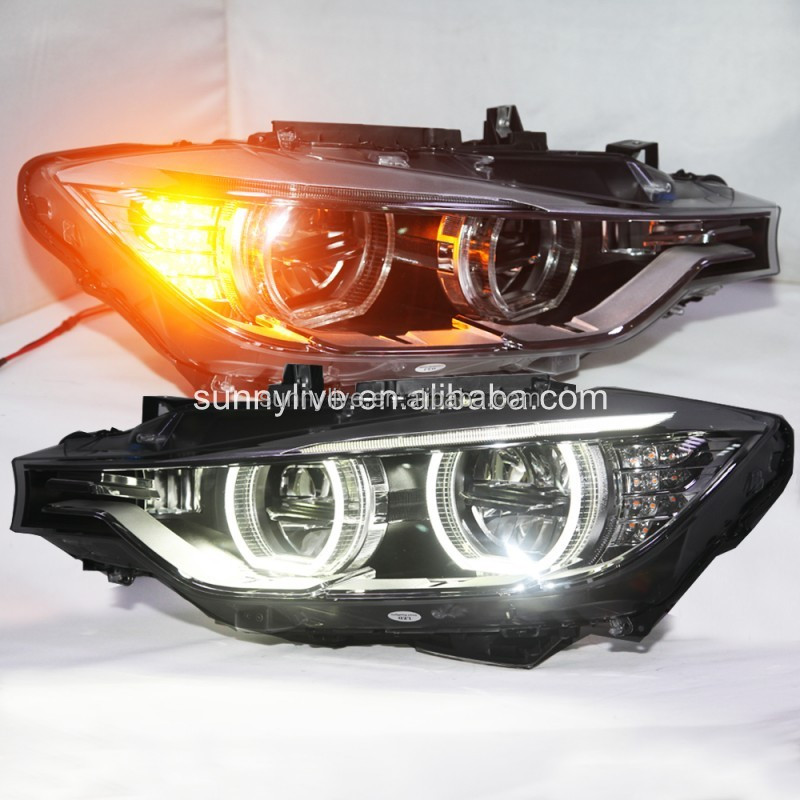 List Manufacturers Of Headlight Bmw F30 Angel Eyes Buy