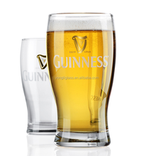 Factory wholesale custom print guinness beer glass, ideal pilsner glass for beer lovers