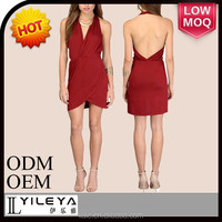 sexy red women celebrity bandage bodycon dress wholesale