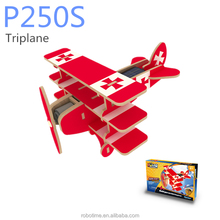 3D wooden toy Educational Solar Model - Triplane