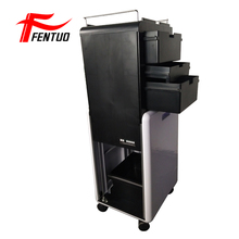 Hair salon special push-pull and retractable hairdressing storage case