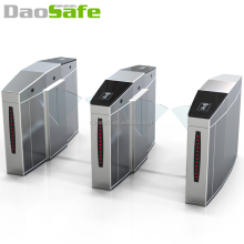 Auto Turnstile With Access Control Barcod Building Management System