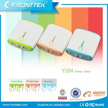 Dual USB 10400mAh power bank for samsung galaxy note universal electronics (Y204)