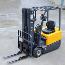 AC ZAPI 3 Wheels 1.6 Ton Function Of Electric Forklift Truck