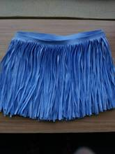 high quality triming suede leather fringe tassel key chain tassel