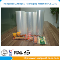 PA/PE sausage clear wrap hot forming stretch film on roll