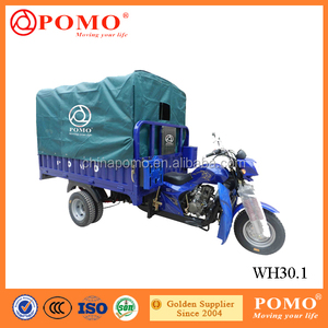 Economical Strong Box Heavy Load 300CC Water Cooled Cargo Reverse Trike For Sale