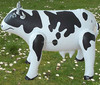 High quality inflatable toy for kids,lovely inflatable cow toy,inflatable animal toy