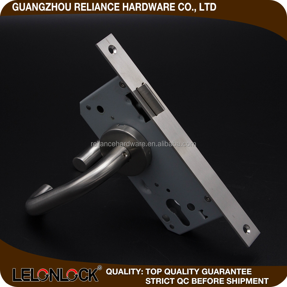 Top sell door fitting products with tubular handle with security latch type mortise lock body , body lock