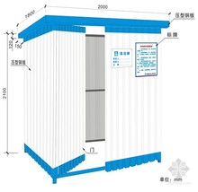 China cheap prefabricated homes,used portable toilets for sale/public toilet