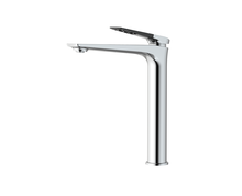 Supply basin waterfall mixer tap