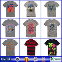 Wholesale clothing no label latest t shirt custom