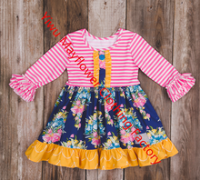 New design halloween dress kids fashion dresses pictures long sleeve fall halloween dress