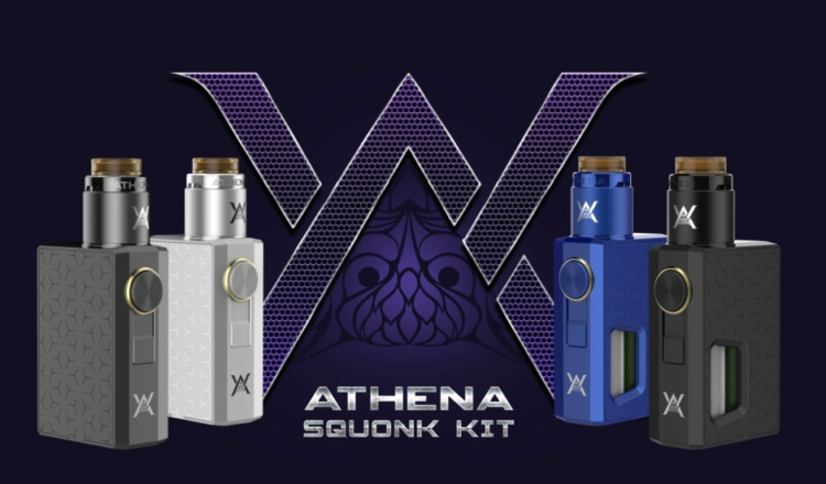Top Selling Products Geekvape Athena Squonker Box Mod Kit with 6.5ml Squonk Bottle