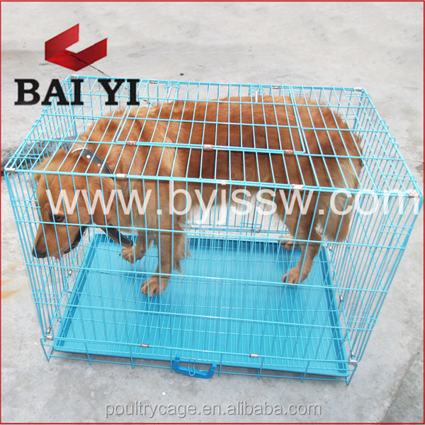 Portable PVC Coated Large Metal Dog House With Cheap Price