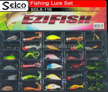 High quality soft lure set made in china