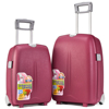 portable pp trolley case roller bag suitcase caster wheels