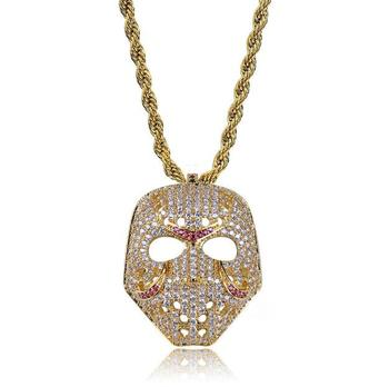 hippie mask pendant necklace jewelry wholesale necklace mask