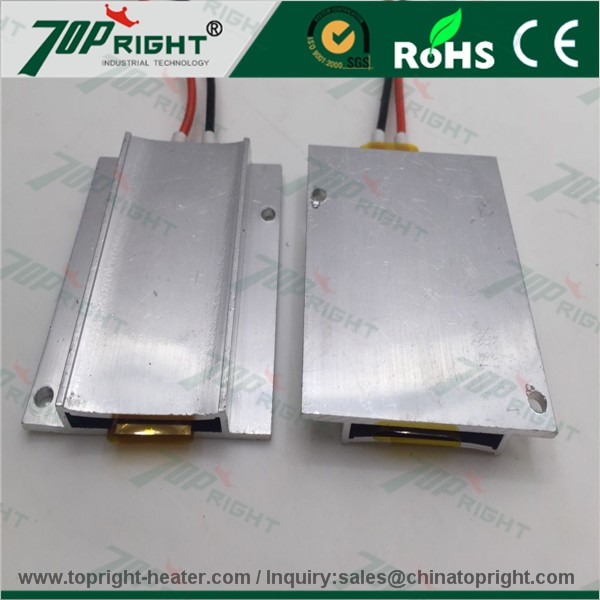 12v 24V 48V electric ptc heating element with ceramic PTC for food hair liquid heating area