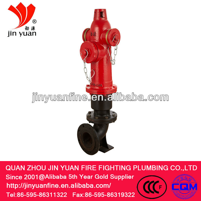 SS100/65-1.6 Outdoor landing fire hydrant,fire hose hydrant