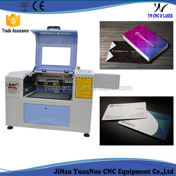 YNC mini laser cutting machine 60 w 80w