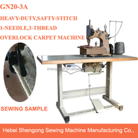 SHENPENG GN20-3A Binding Carpet Sewing Machine, Carpet Overlock Sewing Machine, Carpet Sewing Machine
