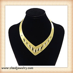 2016 lastest design style of women's jewelry Sland nordstrom statement necklaces