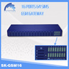 New Arrival! 16 ports with 64 sims GSM voip gateway ,phone mobil voip