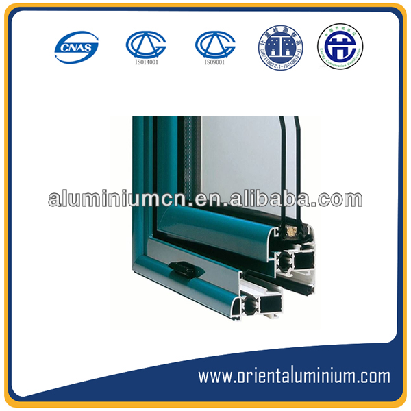 Extruded Anodizing Aluminium Door and Window System Profiles