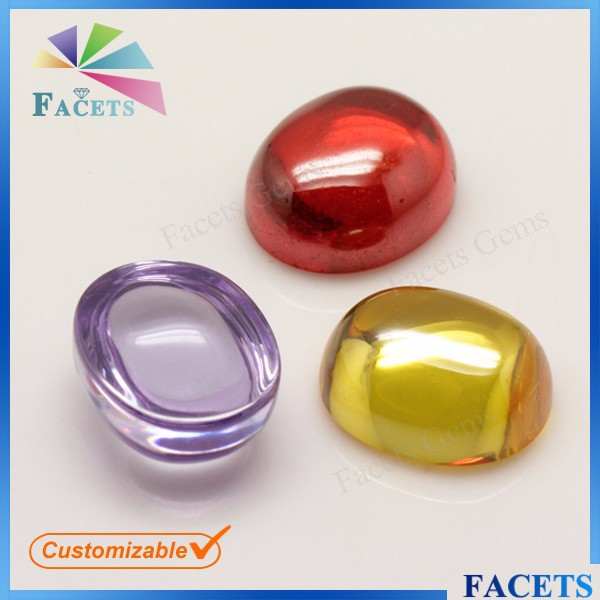 FACETS GEMS Jewelry Making Beads Oval Cabochon Rough Gemstone Cabochon