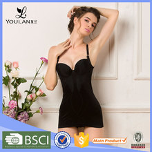 China Shapers Wholesale Manufacturer Nylon Body Suit Sexy See Through Corset Wedding Dress