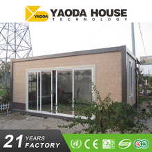 Prefabricated restaurant Shop Type Removable Container Houses