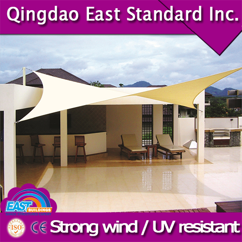 East standard customized high quality one-stop steel car parking shade canopy