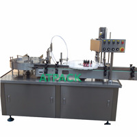 Atpack high-accuracy automatic deruster remover cere filling and capping machine with CE GMP