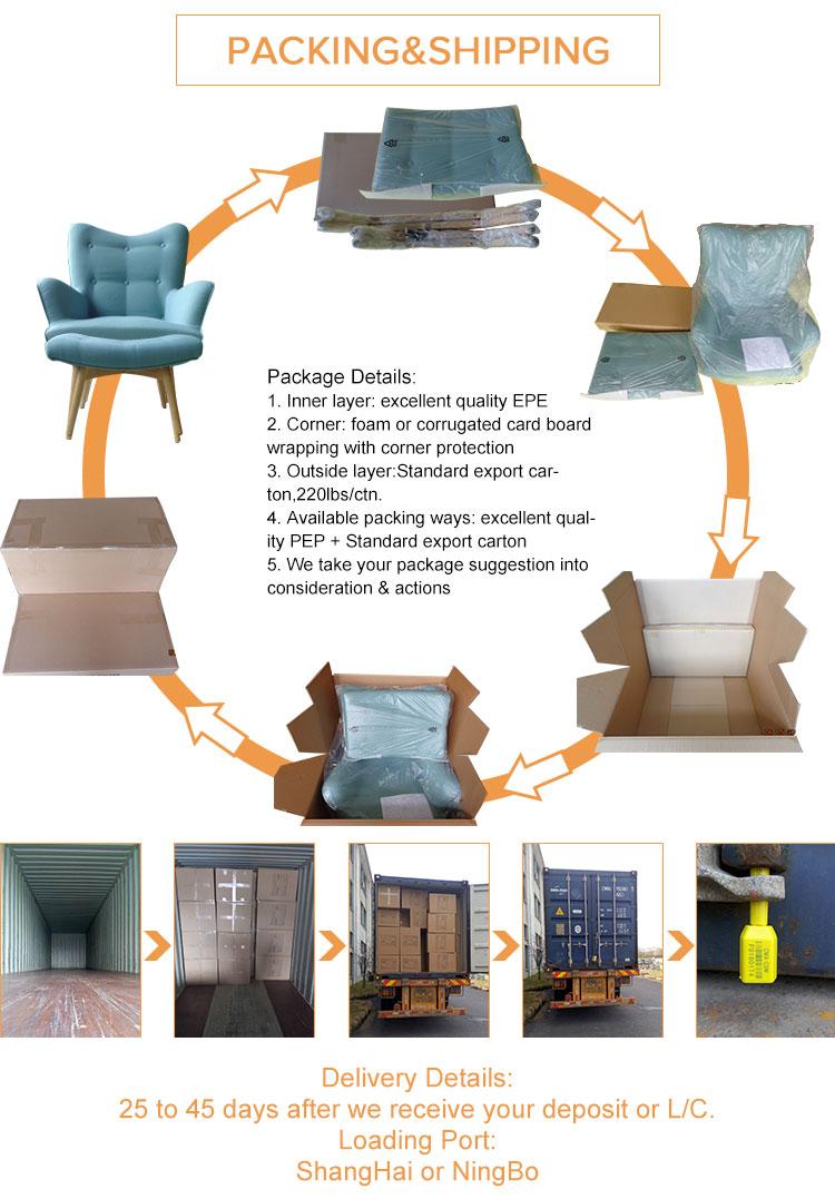 Moderno Color Sólido Cubo de Muebles Tapizados de Tela Otomana-Pufs ...
