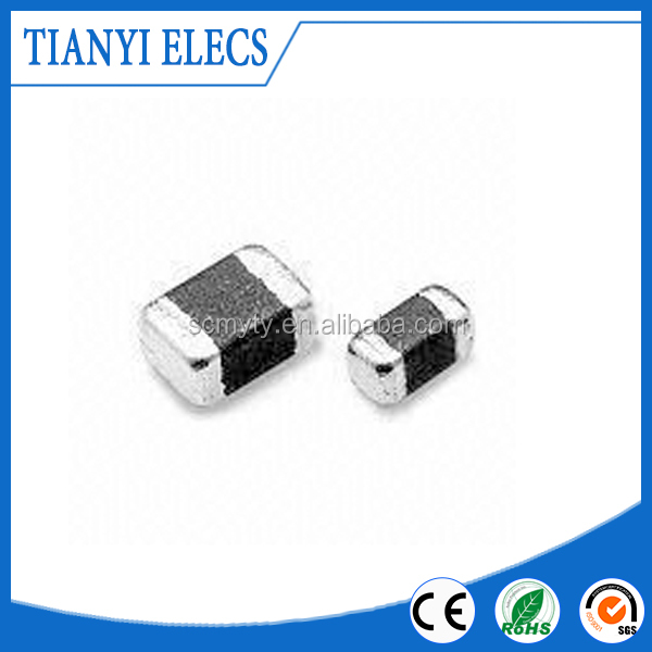 Common Mode Choke Coil with High Current Ferrite Chip Beads Power Inductor Array in 1206 Sizes, TY005041